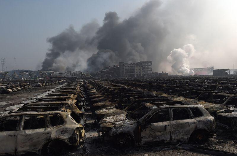 Взрыв в порту Китая наносит урон мировой экономике