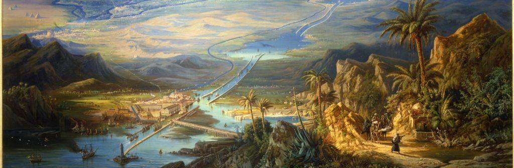 Суэцкому каналу всего 147 лет