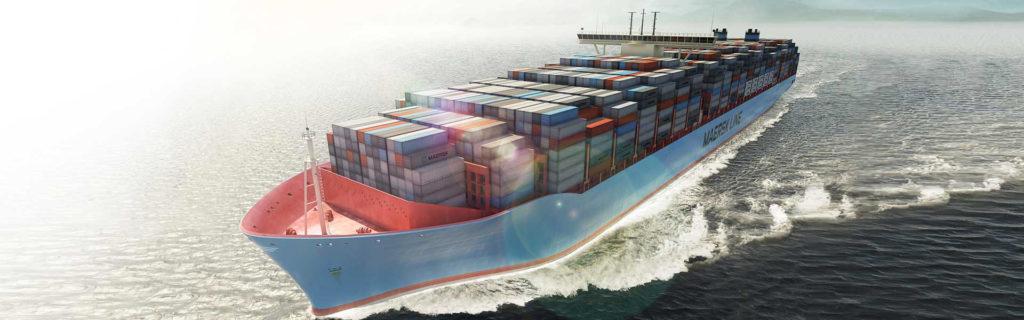 Самый большой контейнеровоз в мире Triple E